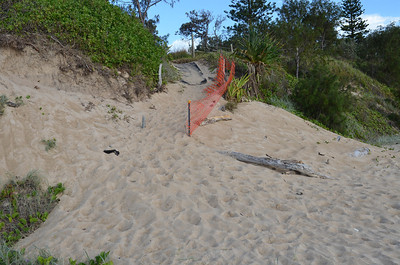Recently repaired access